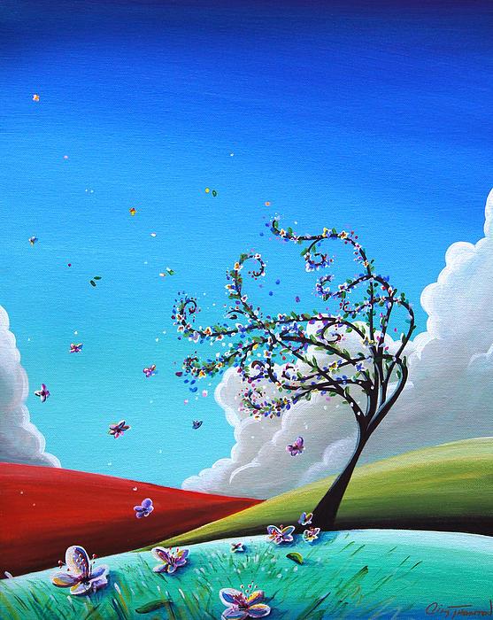 Springtime Print by Cindy Thornton
