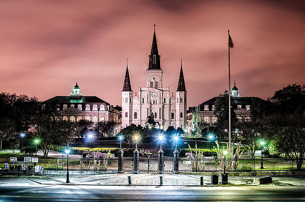 Andy Crawford - St. Louis Cathedral in the morning