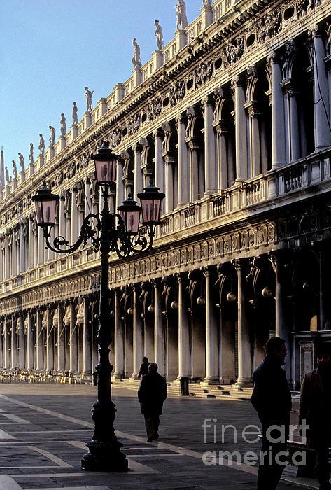 St. Mark's Square Venice Italy Print by Ryan Fox