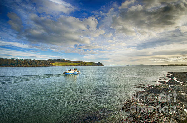 St Mawes Ferry Duchess Of Cornwall Print by Chris Thaxter