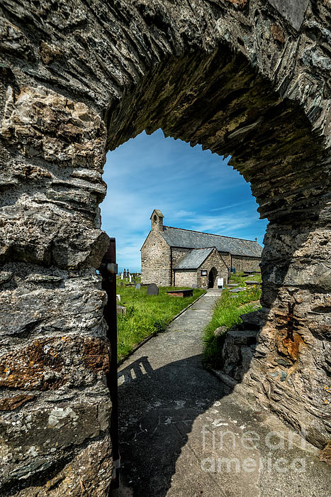 St Patrick Arch Print by Adrian Evans