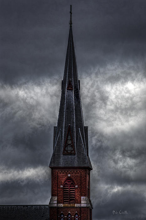 St. Patricks Spire  Print by Bob Orsillo