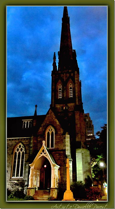 St. Paul's Presbyterian Church Front View Print by Danielle  Parent