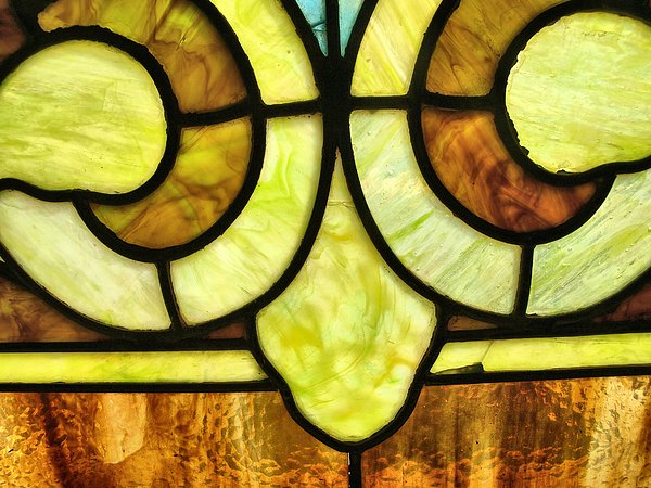Stained Glass 3 Print by Tom Druin