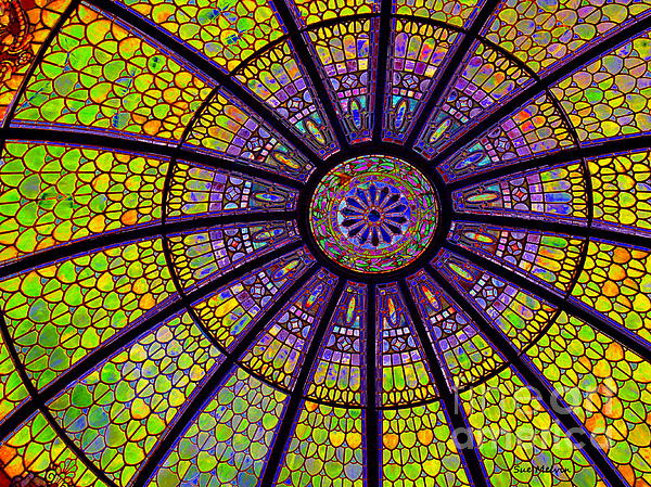 Sue Melvin - Stained Glass