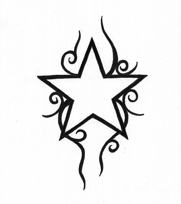 Star Print by Jennifer Kimberly