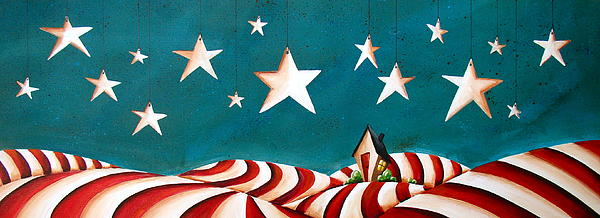 Star Spangled Print by Cindy Thornton