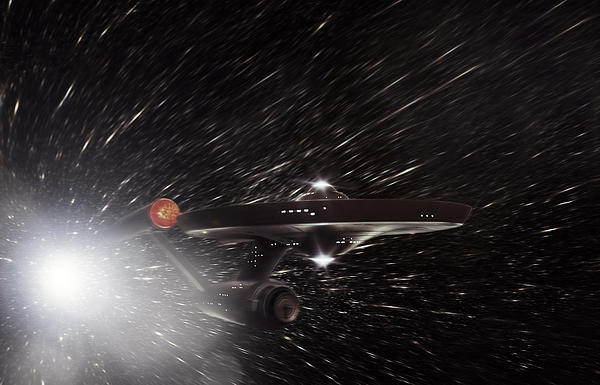 Star Trek - The Original Enterprise  Print by Jason Politte