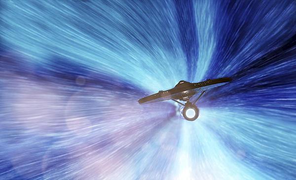Star Trek - Warp Speed Mr. Scott Print by Jason Politte