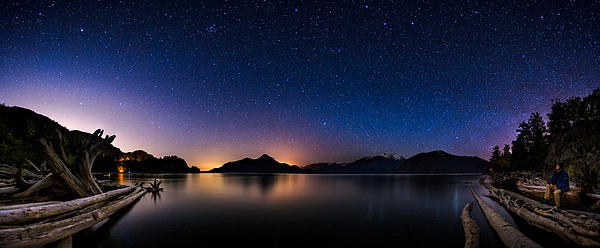 Stargazing Print by Alexis Birkill