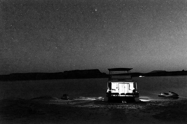 Starry Night - Lake Powell Print by Julie Niemela