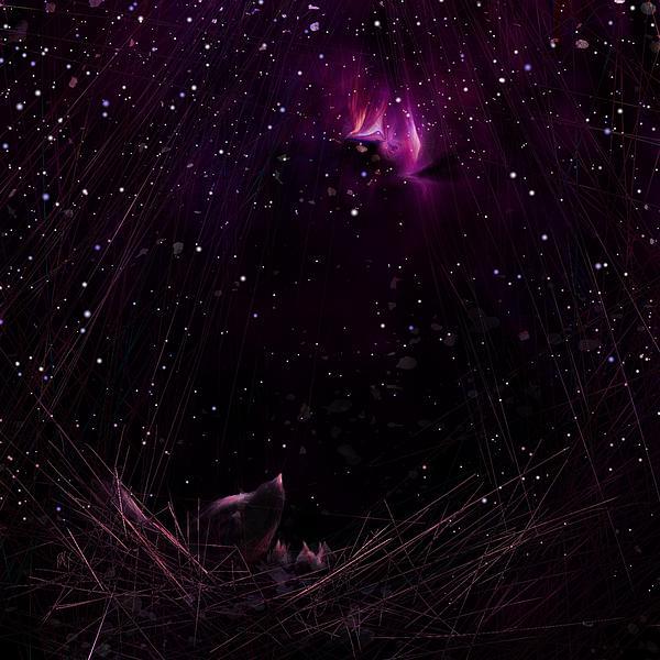 Starry Starry Night Print by Rachel Christine Nowicki