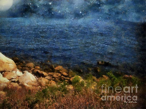 RC deWinter - Stars Falling into the Sea
