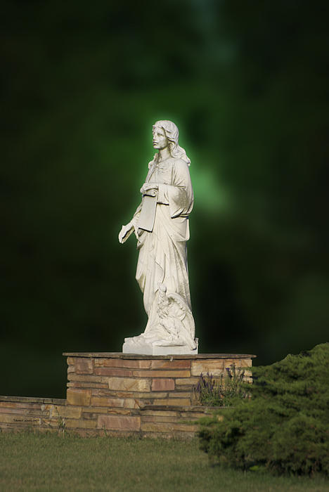 Statue 07 Print by Thomas Woolworth