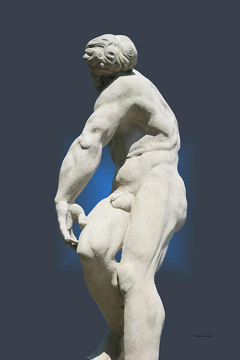 Statue 10 Print by Thomas Woolworth