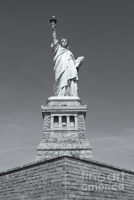 Statue Of Liberty IIi Print by Clarence Holmes