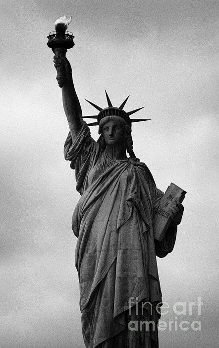Statue Of Liberty National Monument Liberty Island New York City Nyc Print by Joe Fox