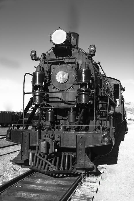 Steam Engine Print by Robert Bales