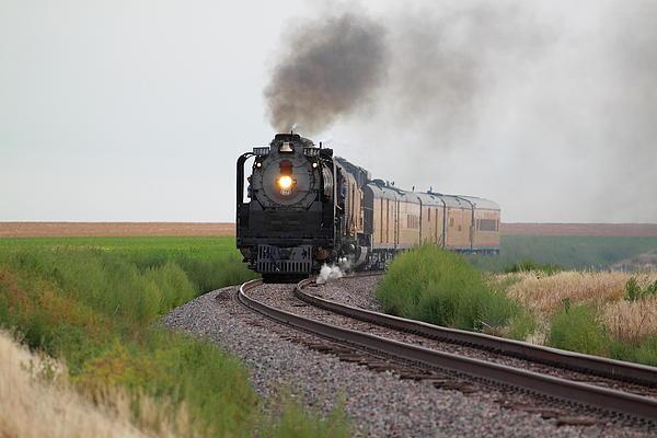 Steam On The Plains Print by Jason Drake