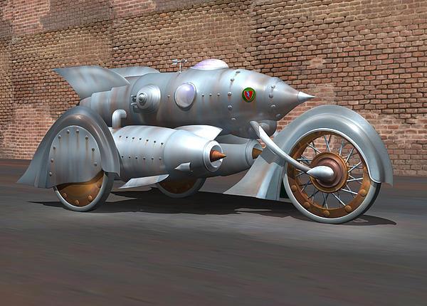 Steam Turbine Cycle Print by Stuart Swartz