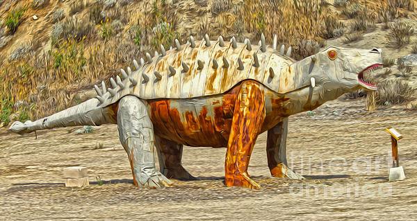 Stegosaurus Print by Gregory Dyer