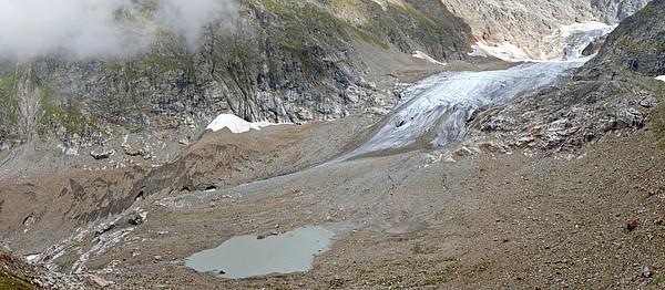 Stein Glacier, Switzerland Print by Science Photo Library