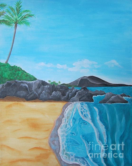 Steven Tyler In Hawaii Print by Jeepee Aero
