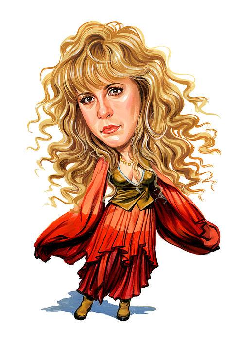 Stevie Nicks Print by Art
