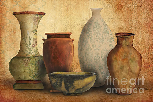 Still Life-d Print by Jean Plout