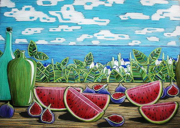 Alesya Von Meer - Still Life with Pear