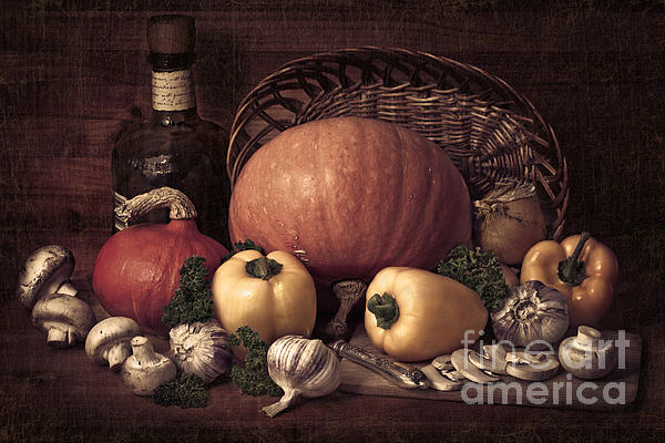 Still life with pumpkins Photograph