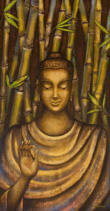 Stillness Speaks Print by Yuliya Glavnaya