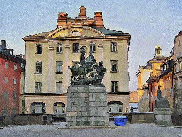 Stockholm 6 Print by Yury Malkov