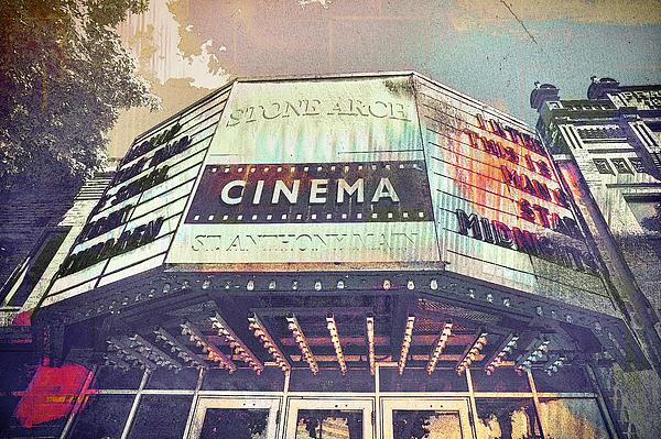 Stone Arch Cinema Print by Susan Stone