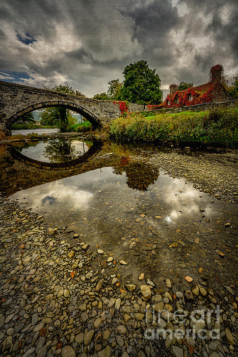 Stone Bridge Print by Adrian Evans