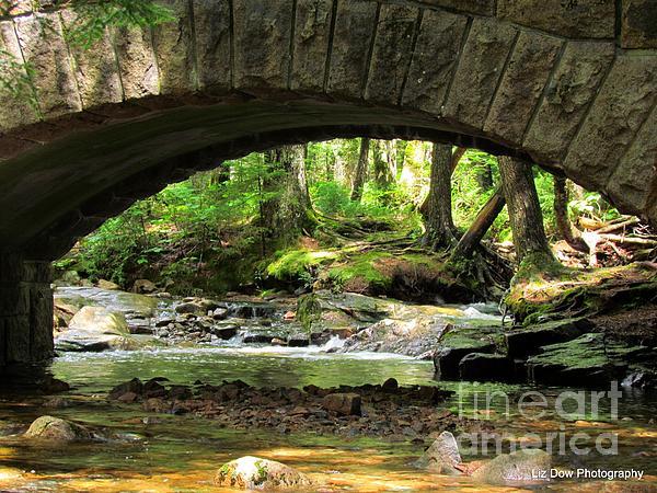 Stone Bridge II Print by Elizabeth Dow