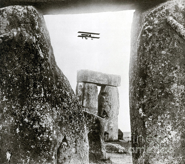 Stonehenge 1914 Print by Science Source