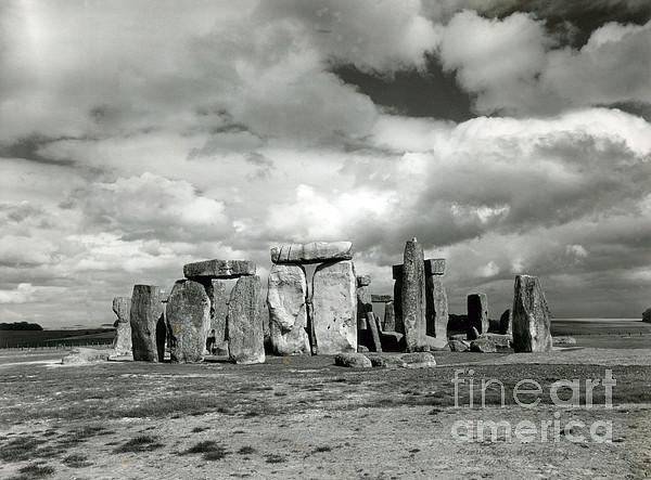 Stonehenge Prehistoric Monument Print by Science Source