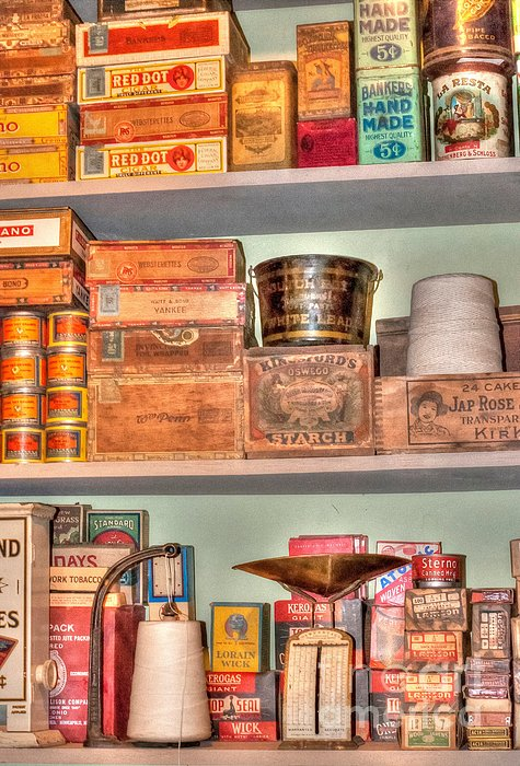 Store - General Store Print by Liane Wright