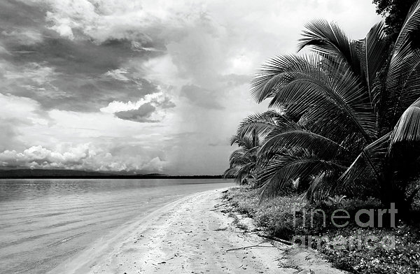 Storm Cloud On The Horizon Print by John Rizzuto