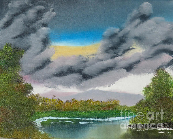 Storm Clouds Print by Dave Atkins