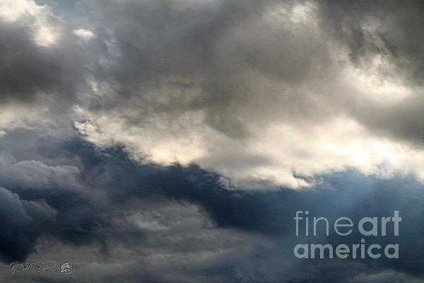 Storm Clouds Print by J McCombie