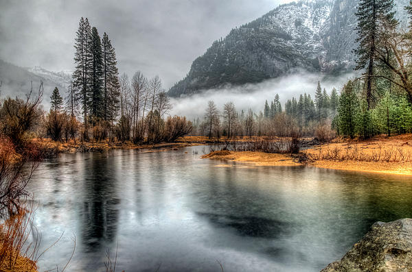 Mike Ronnebeck - Storm in Yosemite