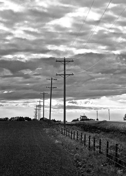 Stormy Skies Print by Lisa Knechtel
