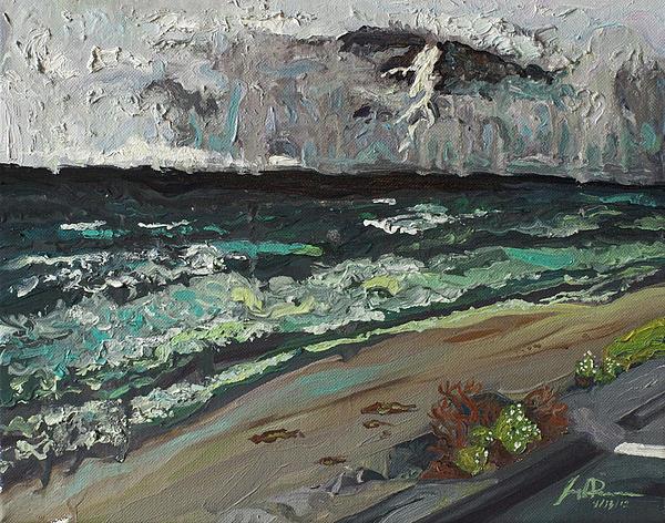 Stormy Weather Print by Joseph Demaree