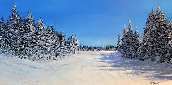 Stratton Intersection Print by Ken Ahlering