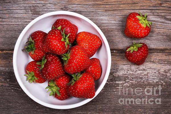 Strawberries Print by Jane Rix