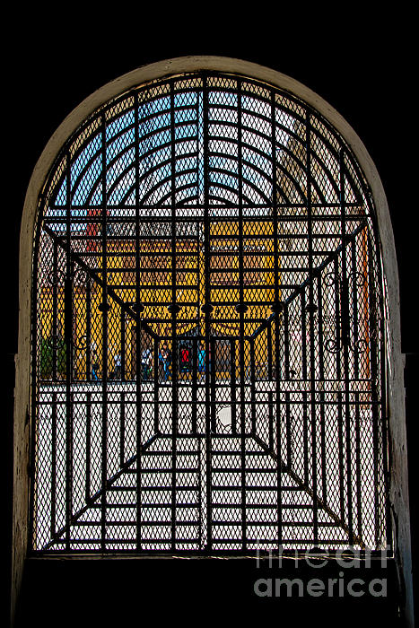 Street Life In Granada Print by Christina Klausen