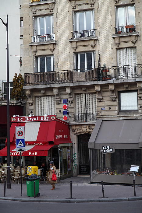 Street Scenes - Paris France - 011352 Print by DC Photographer