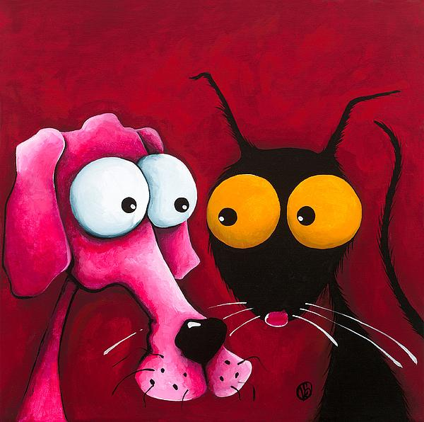 Stressie Cat And Me By Lucia Stewart